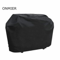 "ONIMER Barbecue Cover, Heavy Duty Oxford Cloth Waterproof & Dust-proof & Anti-UV Outdoor BBQ Grill Cover (Length: 170cm/66.9"" Width: 61cm/24"" High: 117cm/46"" )"