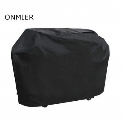 "ONMIER Barbecue Cover, Heavy Duty Oxford Cloth Waterproof & Dust-proof & Anti-UV Outdoor BBQ Grill Cover (Length:145cm/57"" Width: 61cm/24"" Height: 117cm/46"" )"